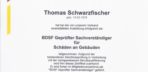 BDSF geprüft Schäden