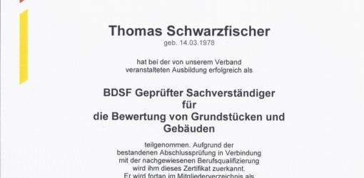 BDSF geprüft Wert
