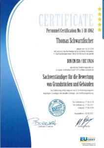Re-Zertifikat 2021